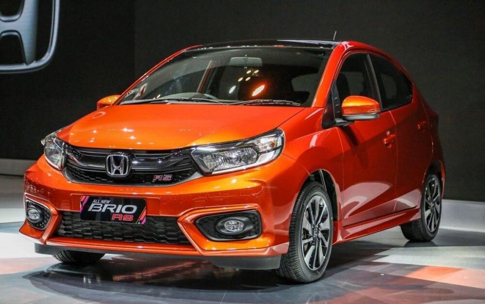 Honda brio màu cam thanh hóa