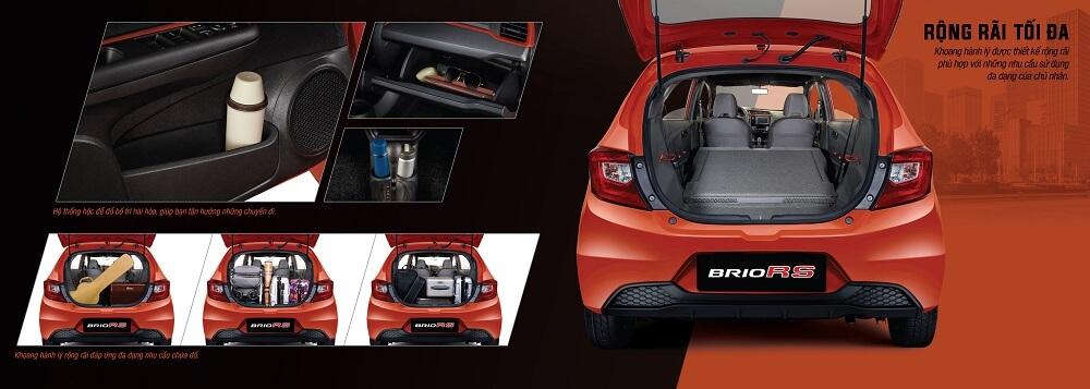 Cốp xe Honda Brio